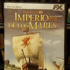 Videojuegos y Consolas: PC CD-ROM - PATRICIAN III - IMPERIO DE LOS MARES INCLUYE CD-ROM + FOLLETOS Y LEYENDA EN ESPAÑOL. Lote 213711325