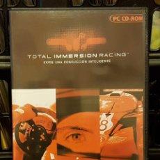Videojuegos y Consolas: PC CD-ROM TOTAL IMMERSION RACING INCLUYE CD-ROM + INSTRUCCIONES EN ESPAÑOL. Lote 213711787