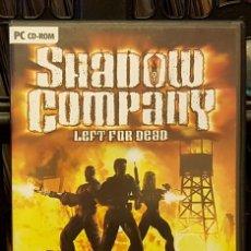 Videojuegos y Consolas: PC CD-ROM SHADOW COMPANY LEFT FOR DEAD. Lote 213711926