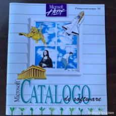 Videojuegos y Consolas: CATÁLOGO DE 1995 DE SOFTWARE MICROSOFT JUEGOS DE ORDENADOR PC. Lote 213755352