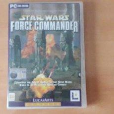Videojuegos y Consolas: 21-000153 -JUEGO PC- STAR WARS, FORCE COMMANDER (2 CDS). Lote 213782411