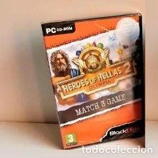 Videojuegos y Consolas: JUEGOS PC EN RETRACTIL SELLADO, SIN ABRIR: PC HEROES OF HELLAS 2. Lote 213801365