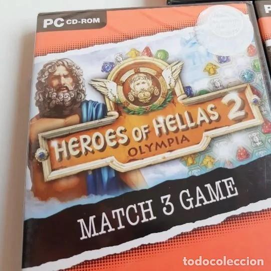 Videojuegos y Consolas: JUEGOS PC EN RETRACTIL SELLADO, SIN ABRIR: PC HEROES OF HELLAS 2 - Foto 2 - 213801365