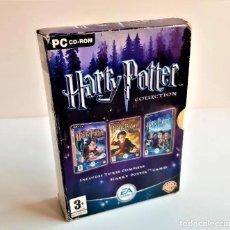 Videojuegos y Consolas: JUEGOS PC HARRY POTTER PC COLLECTION: 3 JUEGOS ORIGINALES COMPLETOS.. Lote 213802031