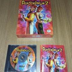 Videojuegos y Consolas: JUEGO PC PANDEMONIUM 2 - EDICION ESPAÑOLA - COMPLETO - CAJA DE CARTON. Lote 213989465