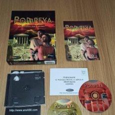 Videojuegos y Consolas: JUEGO PC POMPEYA - EDICION ESPAÑOLA - COMPLETO - CAJA DE CARTON. Lote 213989493