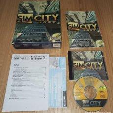 Videojuegos y Consolas: JUEGO PC SIMCITY 3000 SIM CITY - EDICION ESPAÑOLA - COMPLETO - CAJA DE CARTON. Lote 213989551