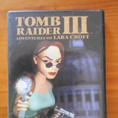 Videojuegos y Consolas: PC TOMB RAIDER III ADVENTURES OF LARA CROFT - CASTELLANO - INCLUYE MANUAL (D7). Lote 214371988
