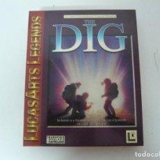 Videogiochi e Consoli: THE DIG / IBM PC Y COMPATIBLES / VER FOTOS / RETRO VINTAGE CD. Lote 214421895