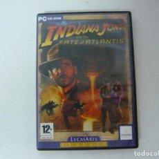 Jeux Vidéo et Consoles: INDIANA JONES & FATE OF ATLANTIS / IBM PC Y COMPATIBLES / VER FOTOS / RETRO VINTAGE CD. Lote 214422073