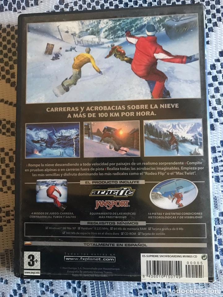 Videojuegos y Consolas: Juego PC Supreme Snowboarding FX interactive - Foto 2 - 214739047