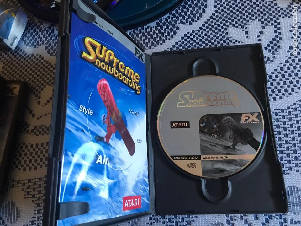 Videojuegos y Consolas: Juego PC Supreme Snowboarding FX interactive - Foto 3 - 214739047