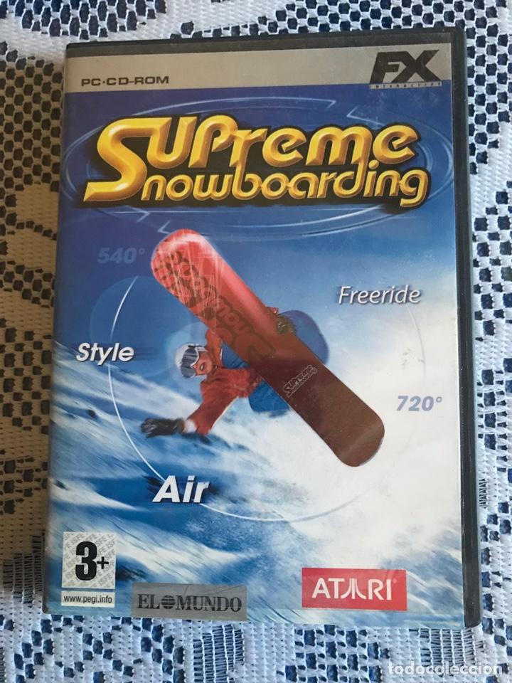 JUEGO PC SUPREME SNOWBOARDING FX INTERACTIVE (Juguetes - Videojuegos y Consolas - PC)