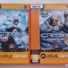 Videojuegos y Consolas: CRYSIS Y CRYSIS WARHEAD - PC. Lote 214968486