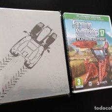 Videojuegos y Consolas: FARMING SIMULATOR 17 - STEELBOOK. Lote 215057271