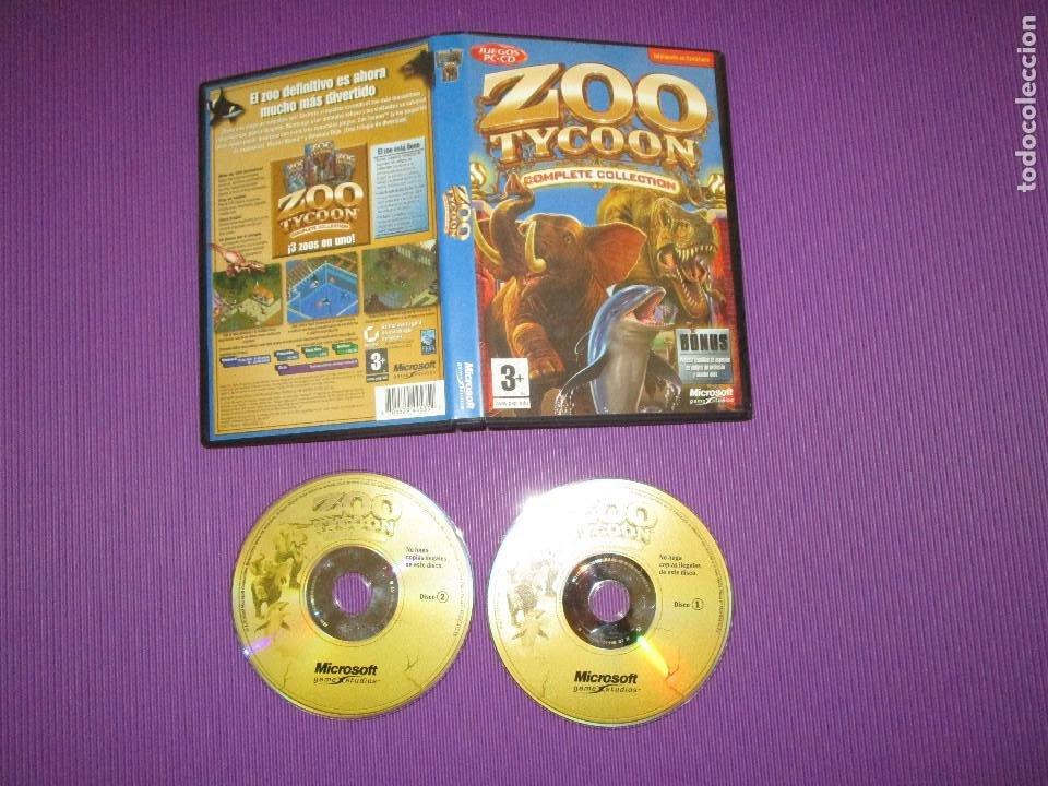 ZOO TYCOON (COMPLETE COLLECTION) - PC CD - MICROSOFT -EL ZOO DEFINITIVO ES AHORA MUCHA MAS DIVERTIDO (Juguetes - Videojuegos y Consolas - PC)