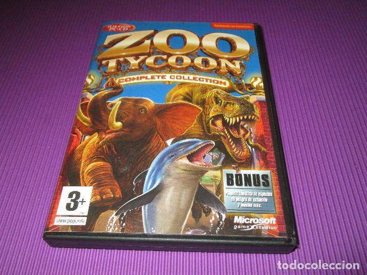 Videojuegos y Consolas: ZOO TYCOON (COMPLETE COLLECTION) - PC CD - MICROSOFT -EL ZOO DEFINITIVO ES AHORA MUCHA MAS DIVERTIDO - Foto 2 - 215279587