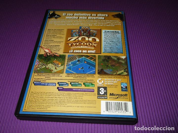 Videojuegos y Consolas: ZOO TYCOON (COMPLETE COLLECTION) - PC CD - MICROSOFT -EL ZOO DEFINITIVO ES AHORA MUCHA MAS DIVERTIDO - Foto 3 - 215279587