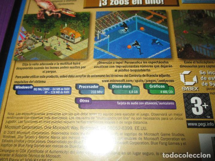 Videojuegos y Consolas: ZOO TYCOON (COMPLETE COLLECTION) - PC CD - MICROSOFT -EL ZOO DEFINITIVO ES AHORA MUCHA MAS DIVERTIDO - Foto 4 - 215279587