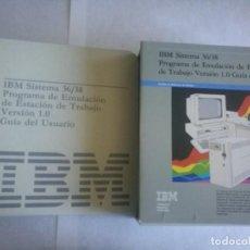 Videojuegos y Consolas: IBM SISTEMA 36/38. Lote 215441678