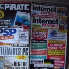 Videojuegos y Consolas: 7 REVISTAS DE PC INTERNET ,.... Lote 215511508