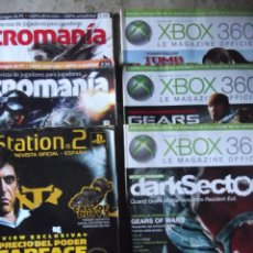 Videojuegos y Consolas: 6 REVISTAS XBOX , PLAYSTATION Y MICROMANIA. Lote 215512068