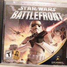 Videojuegos y Consolas: VIDEOJUEGO BATTLEFRONT 1 ORIGINAL STAR WARS PARA PC. Lote 215769118
