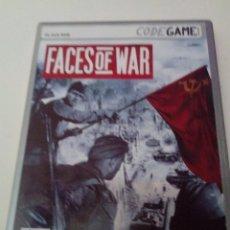 Videojuegos y Consolas: PC DVD ROM FACES OF WAR.. Lote 216528233