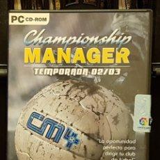 Videojuegos y Consolas: CHAMPION SHIP MANGER TEMPORADA 02/03. Lote 216918566