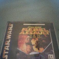 Videojuegos y Consolas: STAR WARS REBEL ASSAULT. Lote 217212423