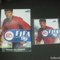 Videojuegos y Consolas: FIFA 99. MANUAL + CD.. Lote 217314922