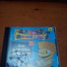 Videojuegos y Consolas: PC CD-ROM. LOS MISTERIOS DE LA SELVA APRENDI LUNNIS.. Lote 217501197