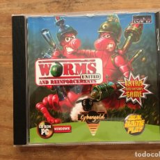 Videojuegos y Consolas: JUEGO PC. WORMS AND REINFORCEMENTS UNITED. Lote 217502497