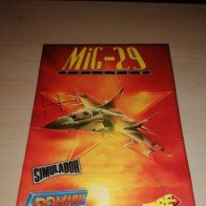 Videojuegos y Consolas: MIG- FULCRUM - ERBE - IBM PC 3 1/2. Lote 217624471