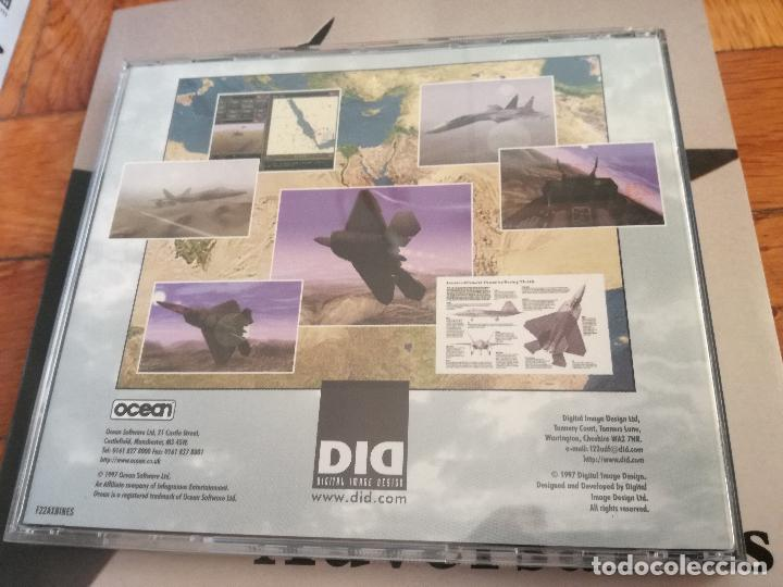 Videojuegos y Consolas: F22 DID AIR DOMINANCE FIGHTER - SOFTWARE EN CASTELLANO - JUEGO PARA PC. CD ROM PERFECTO COMO NUEVO - Foto 5 - 217859270