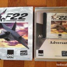 Videojuegos y Consolas: F22 DID AIR DOMINANCE FIGHTER - SOFTWARE EN CASTELLANO - JUEGO PARA PC. CD ROM PERFECTO COMO NUEVO. Lote 217859270
