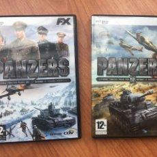 Videojuegos y Consolas: PANZERS VOLÚMENES 1 Y 2. JUEGOS PC DVD FX. Lote 218205208