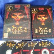 Videojuegos y Consolas: DIABLO 2 II (3 DISCOS)+ EXPANSION LORDS OF DESTRUCTION PC. Lote 218210526