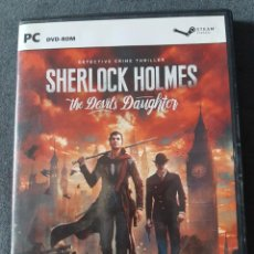 Videojuegos y Consolas: JUEGO PC SHERLOCK HOLMES THE DEVIL'S DAUGHTER. Lote 218724118