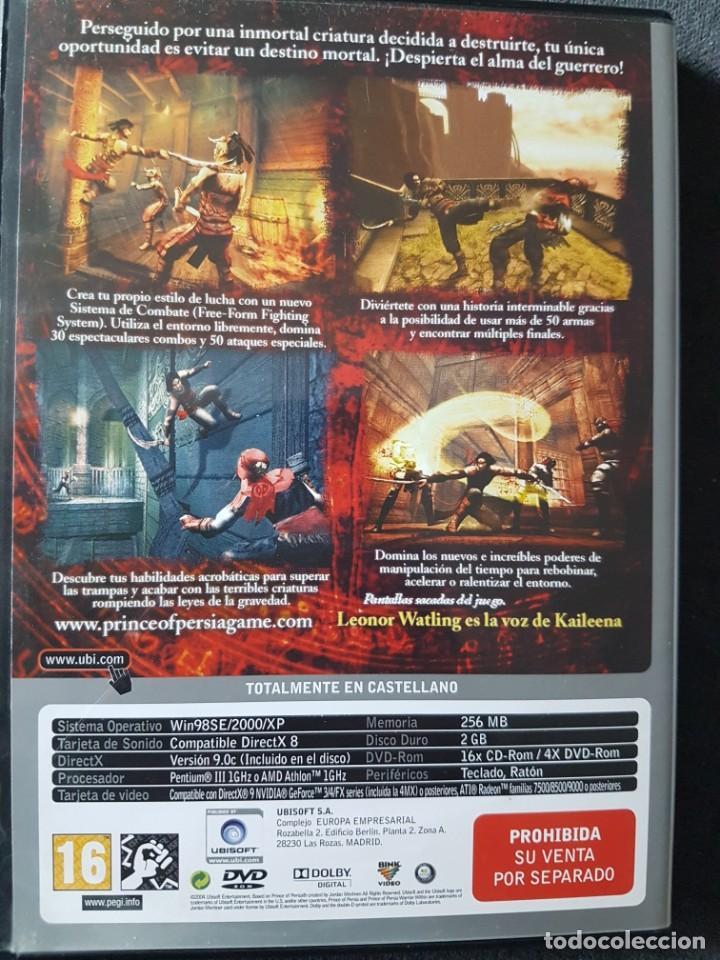 Videojuegos y Consolas: juego PC Prince of Persia el alma del guerrero - Foto 2 - 218726447