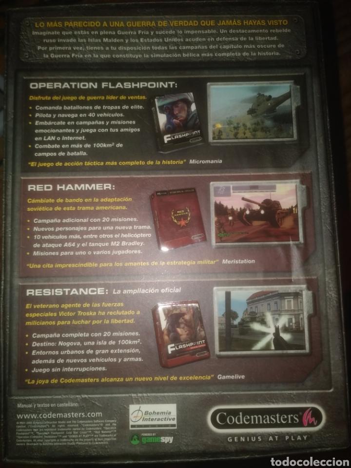 Videojuegos y Consolas: Operation flashpoint pc caja - Foto 2 - 218834035
