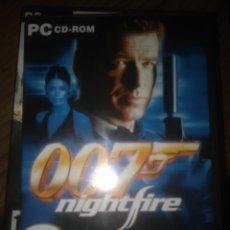 Videojuegos y Consolas: 007 NIGHTFIRE PC. Lote 218834661