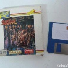 Jeux Vidéo et Consoles: STREET FIGHTER / CAJA CARTÓN / IBM PC / RETRO VINTAGE / DISKETTE. Lote 218881747