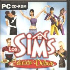 Videojuegos y Consolas: DVD, LOS SIMS-EDICIÓN DELUXE, EA GAMES, PARA PC. Lote 219004040
