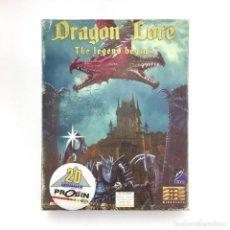 Videojuegos y Consolas: DRAGON LORE THE LEGEND BEGINS / PROEIN PC CD ROM JUEGO DE ORDENADOR RETRO INFORMATICA VIDEOJUEGO PPS. Lote 219031455