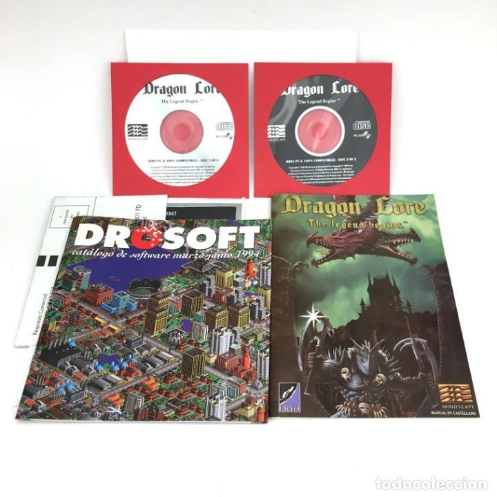 Videojuegos y Consolas: DRAGON LORE THE LEGEND BEGINS / PROEIN PC CD ROM JUEGO DE ORDENADOR RETRO INFORMATICA VIDEOJUEGO PPS - Foto 2 - 219031455