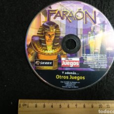 Videojuegos y Consolas: CD ROM. FARAÓN + OTROS JUEGOS PC. Lote 219213207