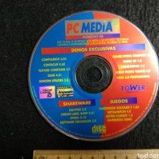 Videojuegos y Consolas: CD ROM. PC MEDIA 45 PROGRAMAS Y UTILIDADES. Lote 219213983