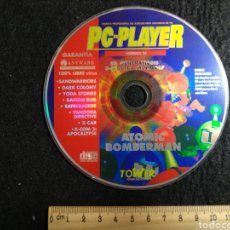 Videojuegos y Consolas: CD ROM. PC PLAYER 25. ATOMIC BOMBERMAN + OTROS. Lote 219214727