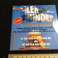 Videojuegos y Consolas: CD ROM. SILENT THUNDER, COMMAND AND CONQUER. Lote 219225050